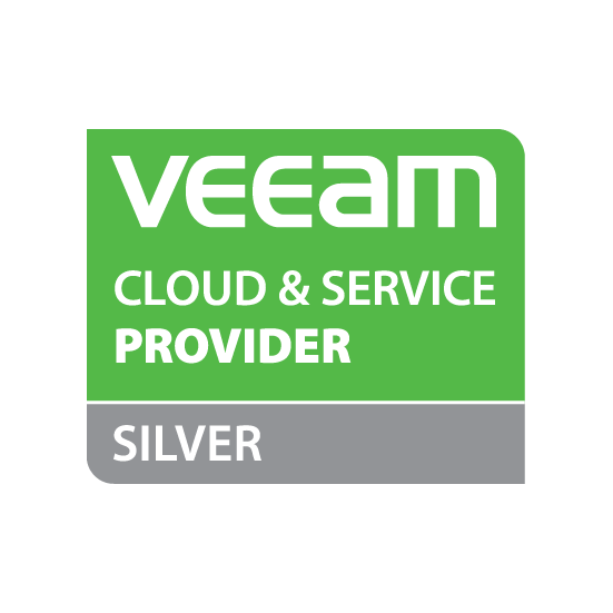 Veeam silver logo square